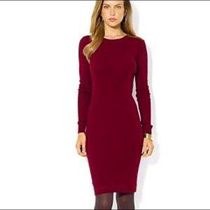 Ralph Lauren Shoulder patch sweater dress M